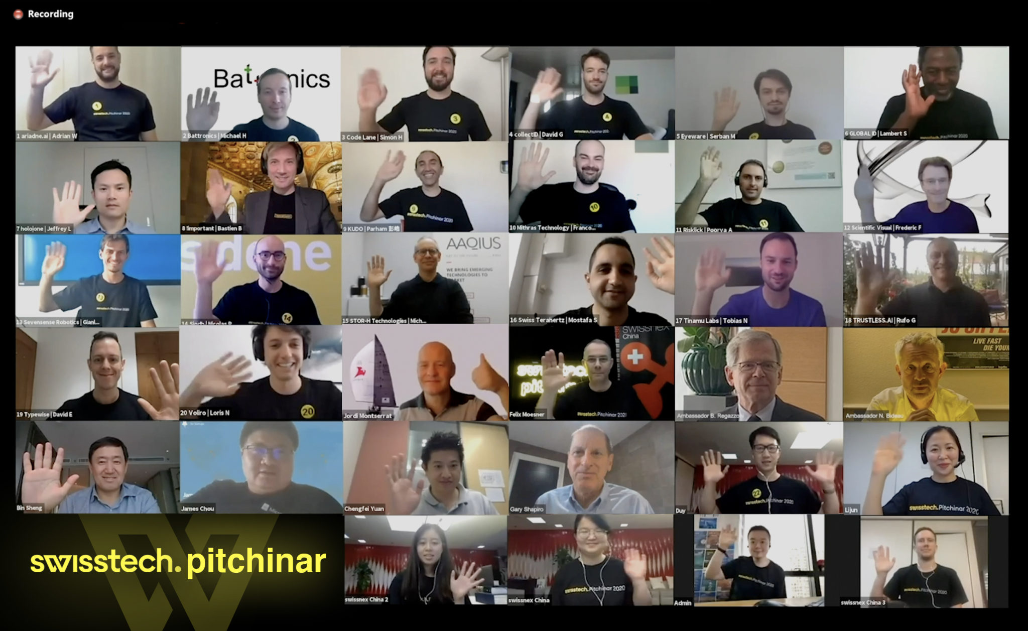 SwissTech Pitchinar showcases the latest innovations in DeepTech via global audience